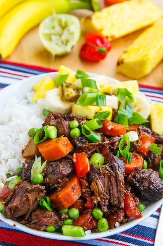 Jamaican Style Jerk Beef Stew