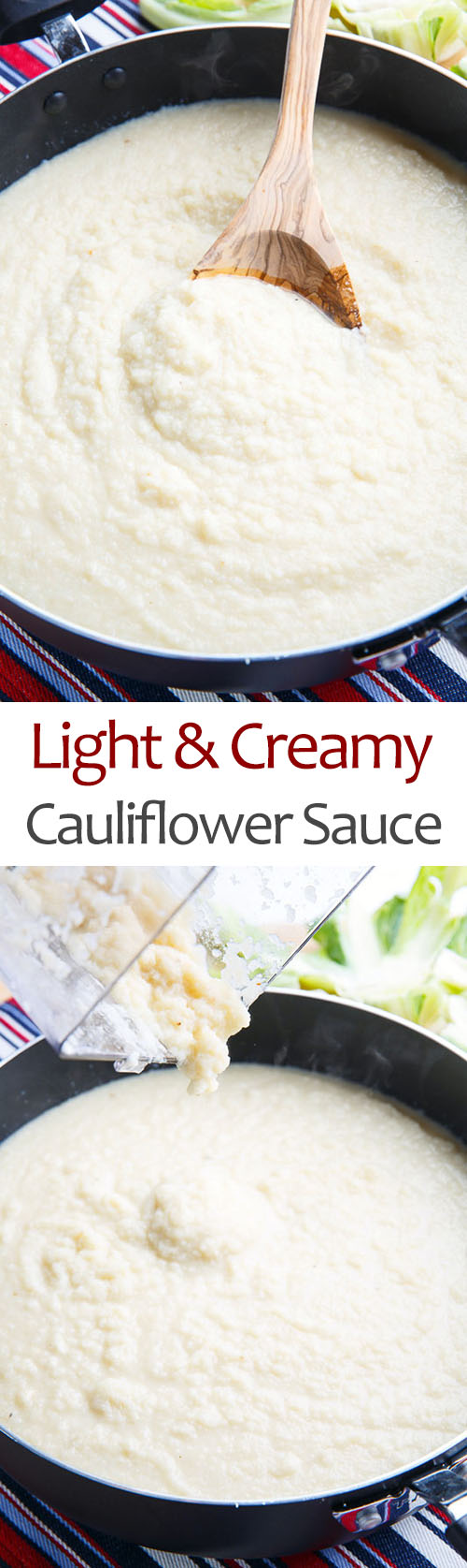 Light and Creamy Cauliflower Sauce
