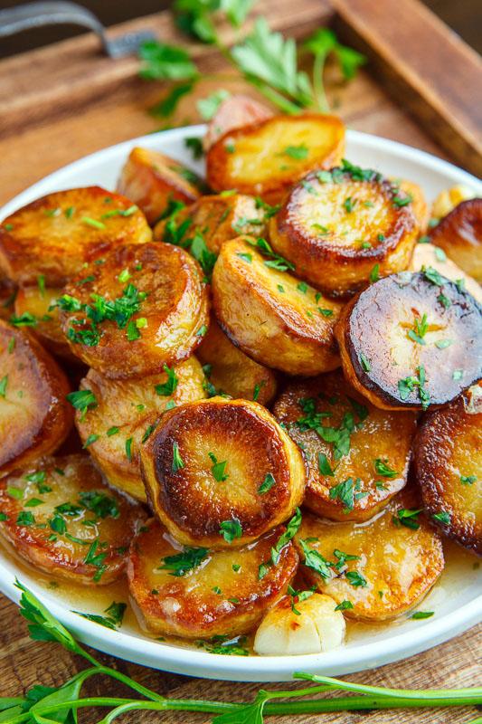 Melting Potatoes Closet Cooking