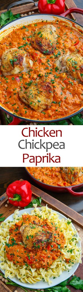 Chicken and Chickpea Paprika
