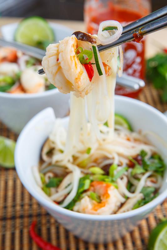 Tom Yum Goong (Thai Hot and Sour Shrimp Soup)