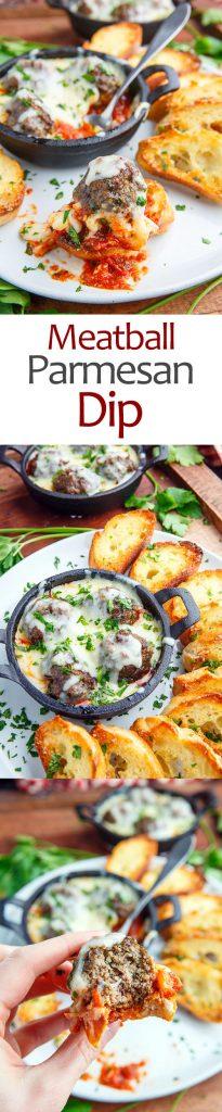Meatball Parmesan Dip