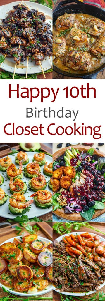 Happy 10th Birthday Closet Cooking
