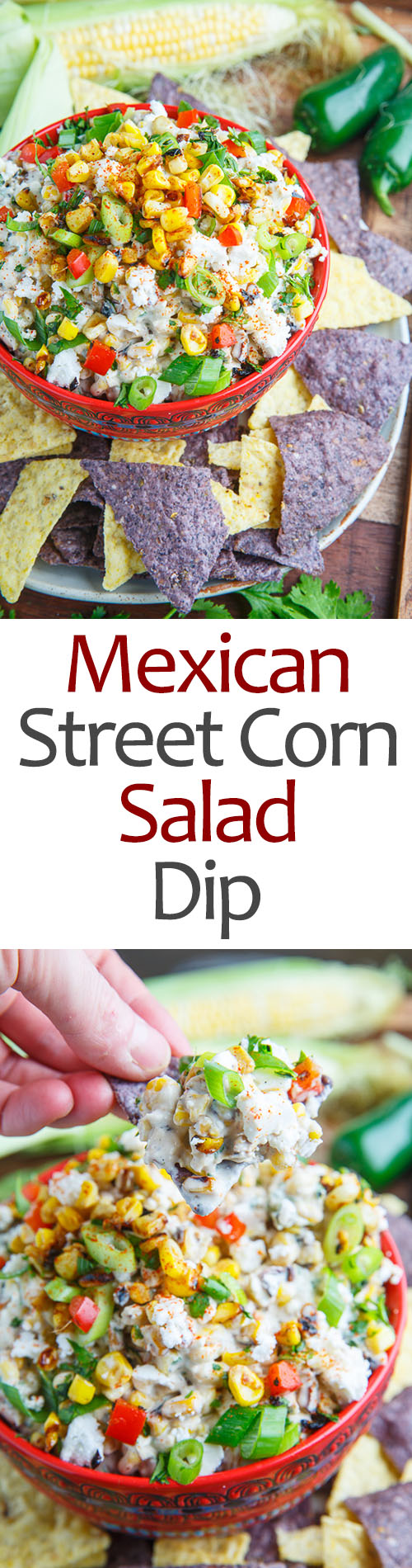 Mexican Corn Salad Dip
