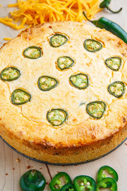 Jalapeno Popper Chorizo Cheesecake