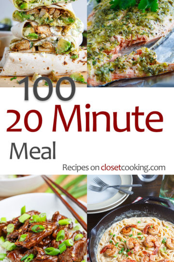 100 20 Minute Meals