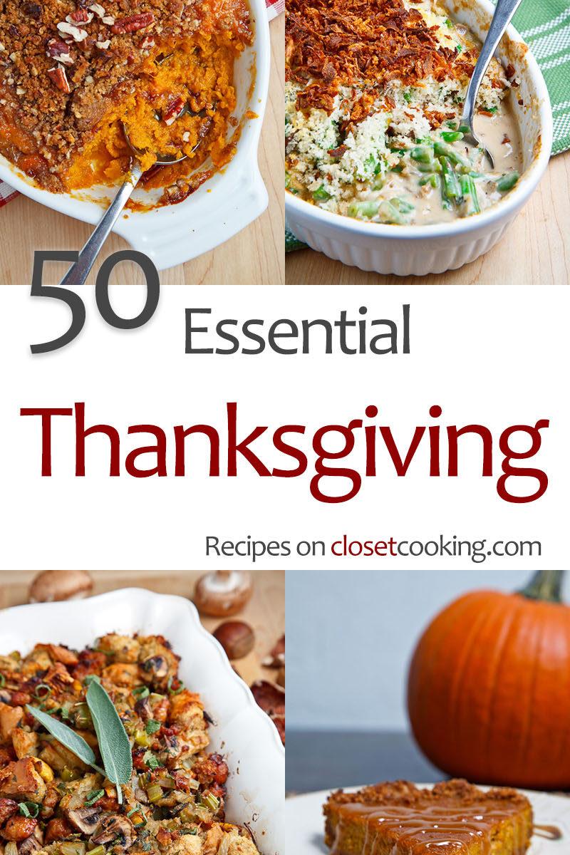 50 Essential Thanksgiving Recipes