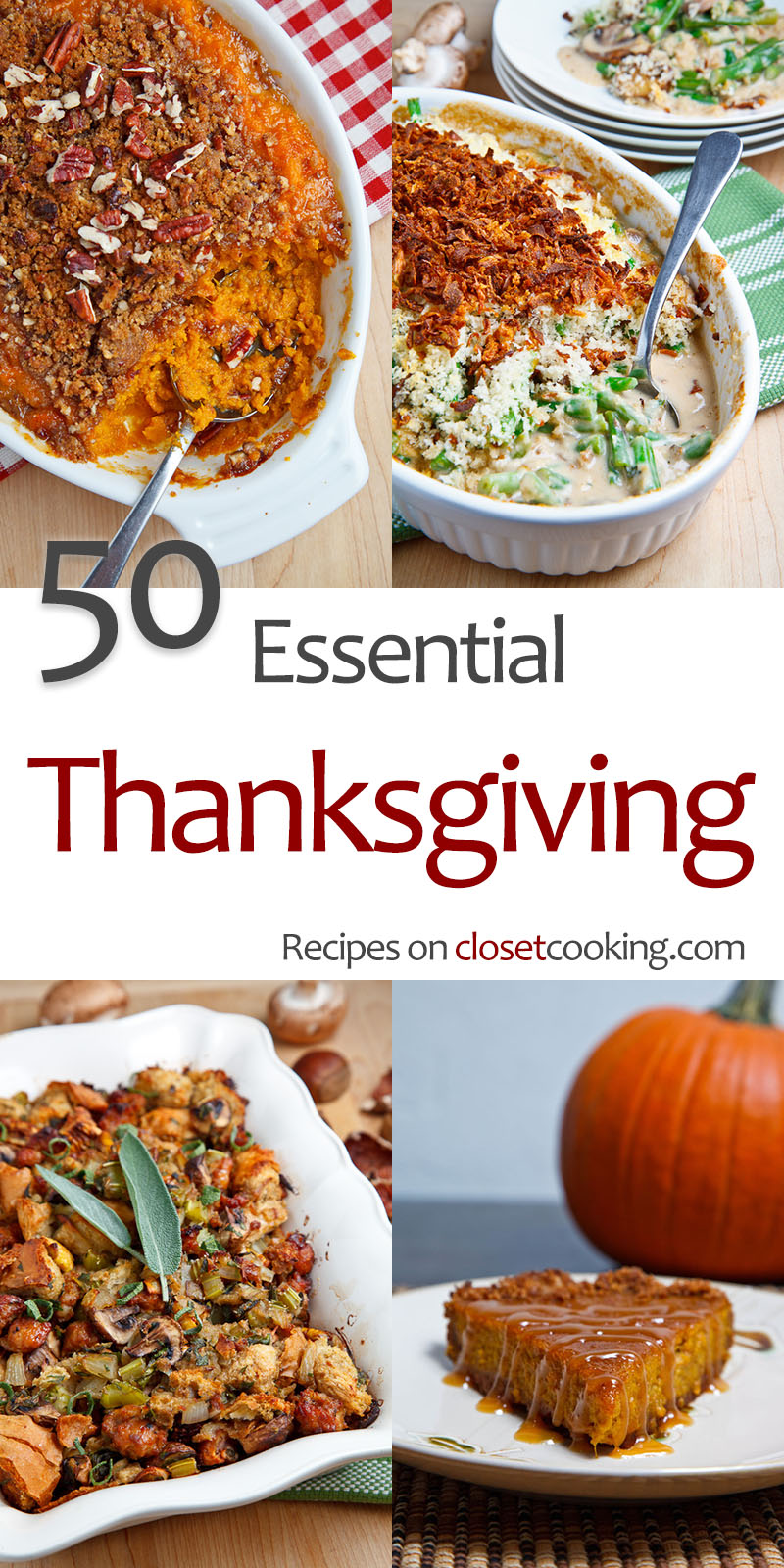 50 Essential Thanksgiving Recipes