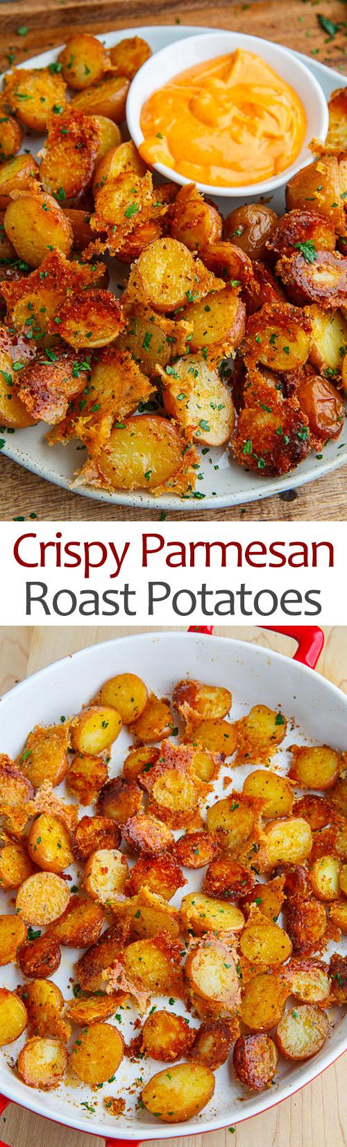 Crispy Parmesan Roast Potatoes