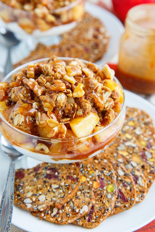 Caramel Apple Crumble Cheesecake Dip