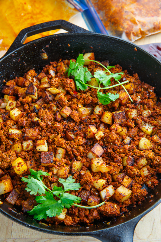 Crispy Fried Chorizo And Potatoes Closet Cooking