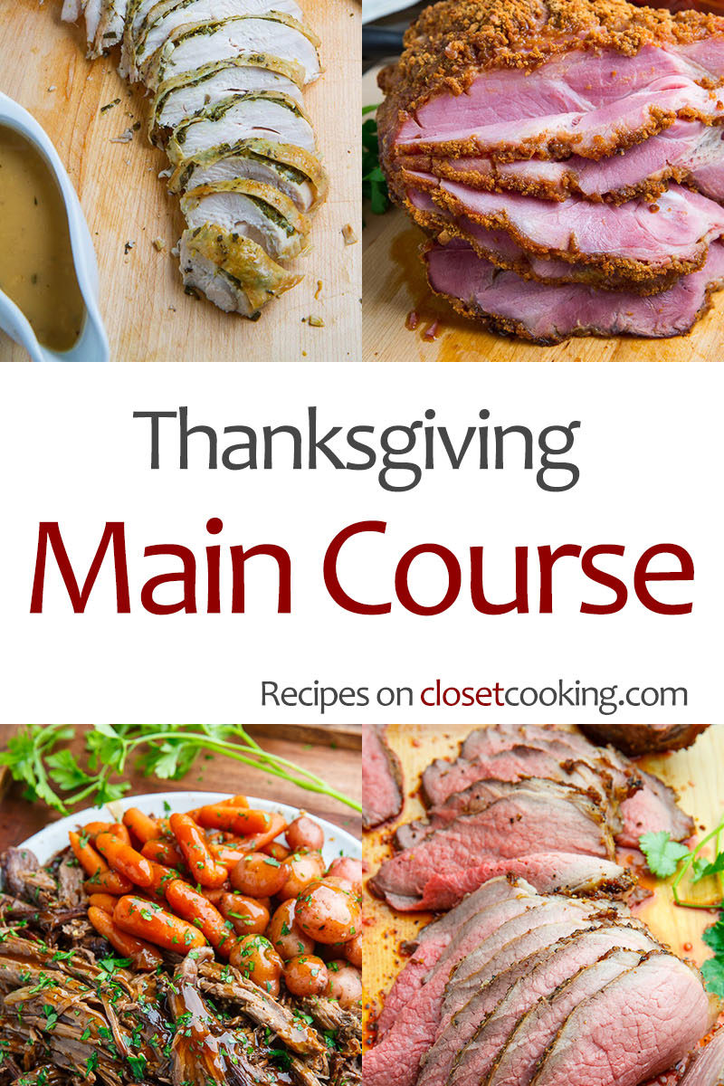 Thanksgiving Main Course Recipes