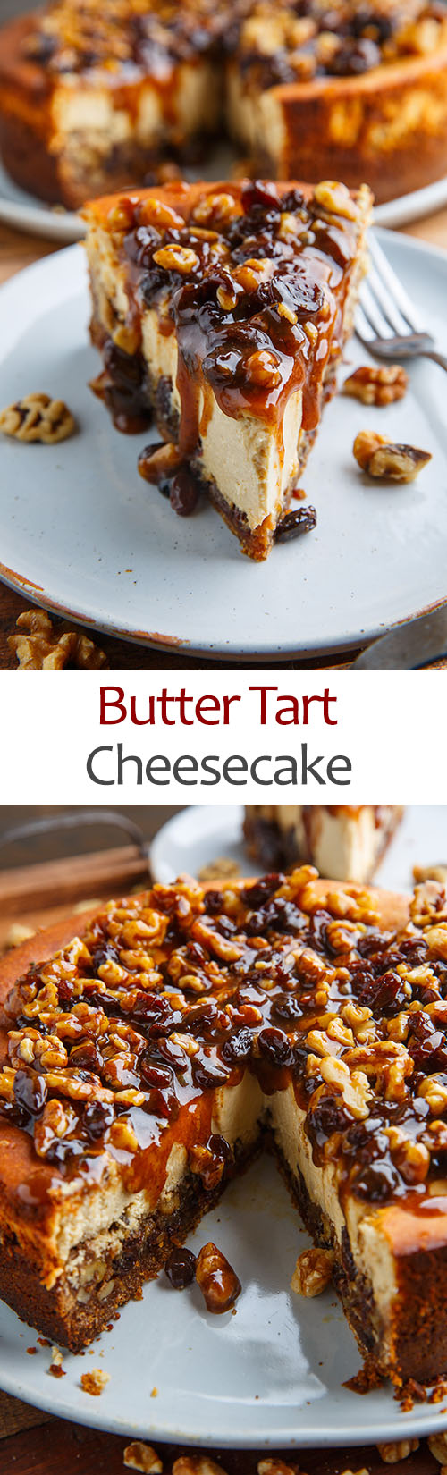 Butter Tart Cheesecake