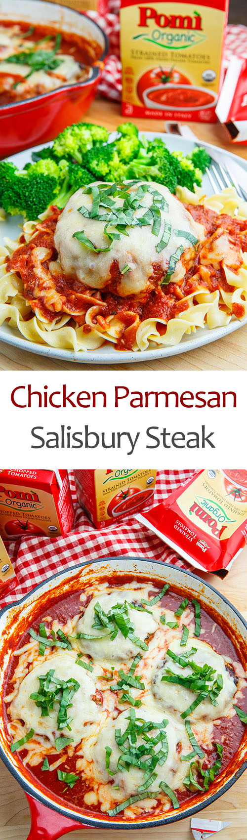 Chicken Parmesan Salisbury Steak