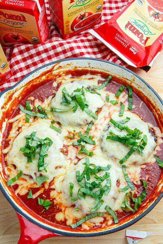 Chicken Parmesan Salisbury Steak