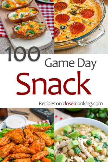 100 Game Day Snack Recipes