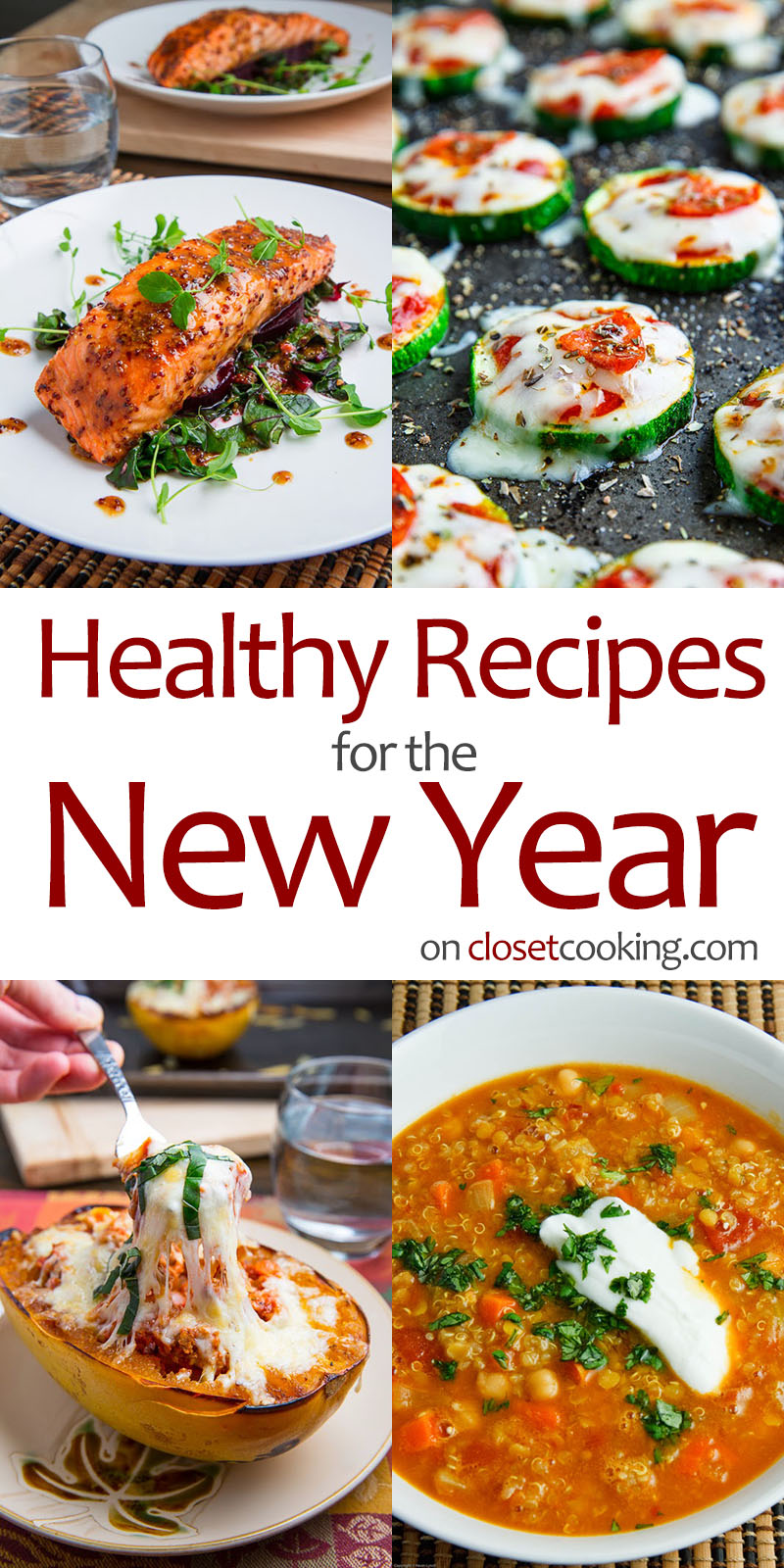 Healthy Recipes to Start the New Year