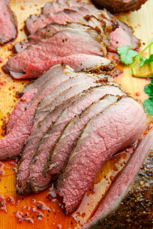 Perfect Eye of Round Roast Beef
