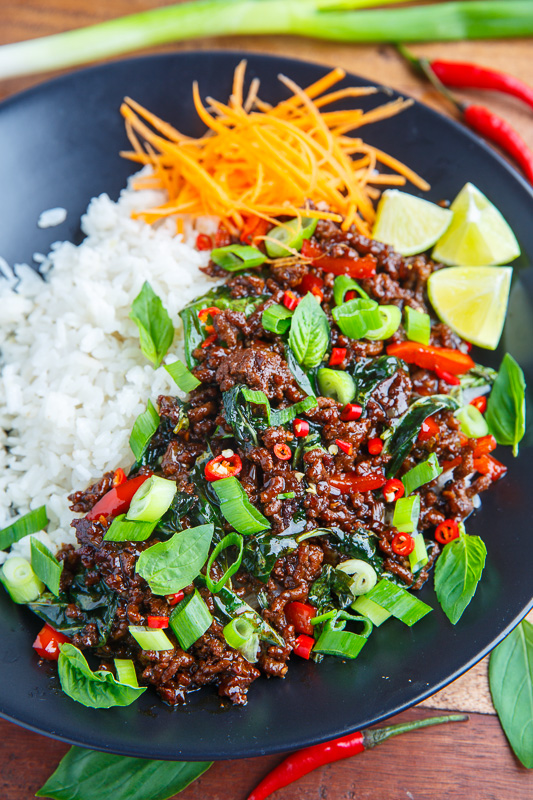 20 Minute Thai Basil Beef