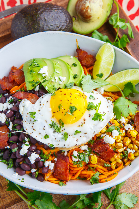 Chipotle Sweet Potato Noodle Bowl
