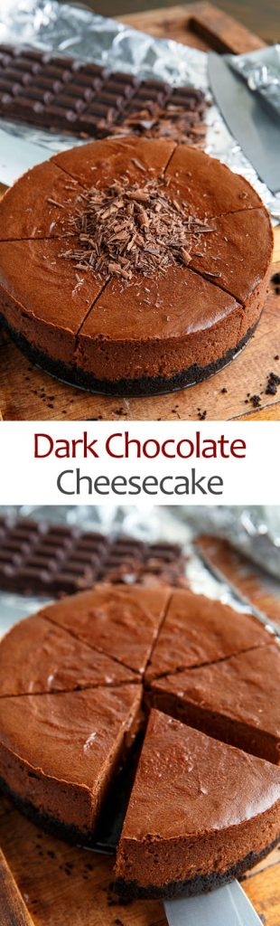 Dark Chocolate Cheesecake