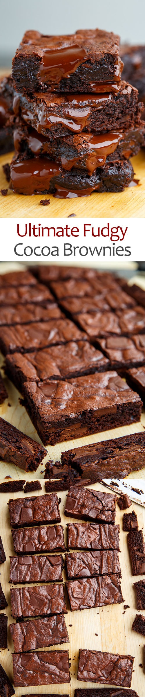 Ultimate Fudgy Cocoa Brownies
