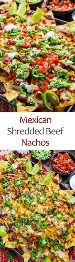 Mexican Shredded Beef Nachos
