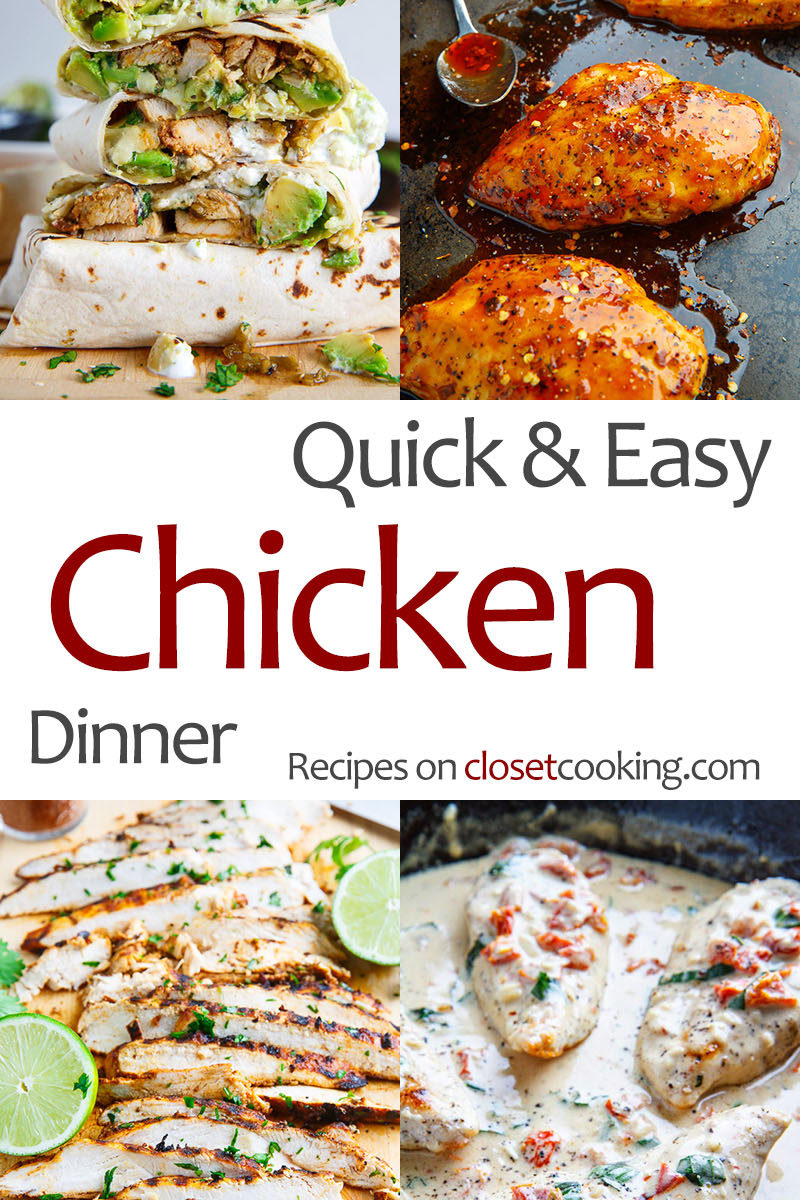 Quick and Easy Chicken Dinner Recipes