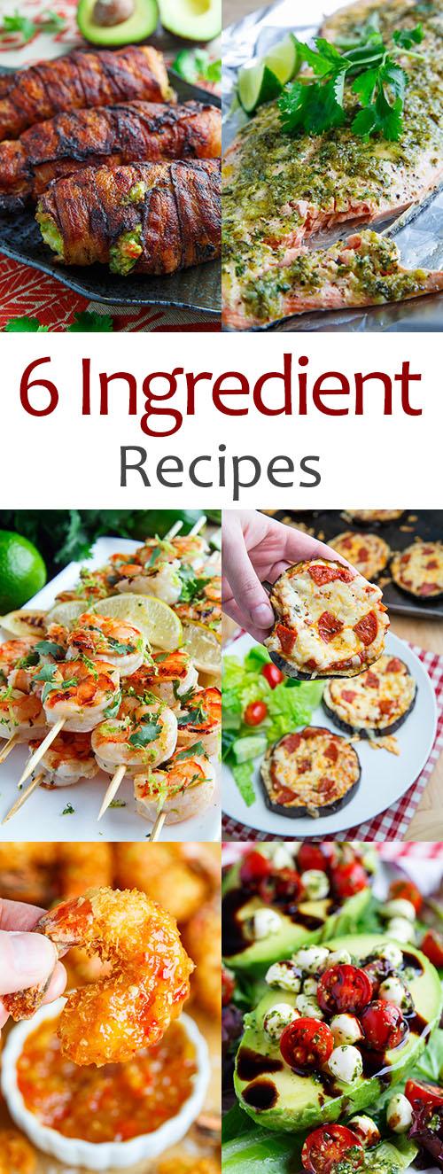 6 Ingredient Recipes