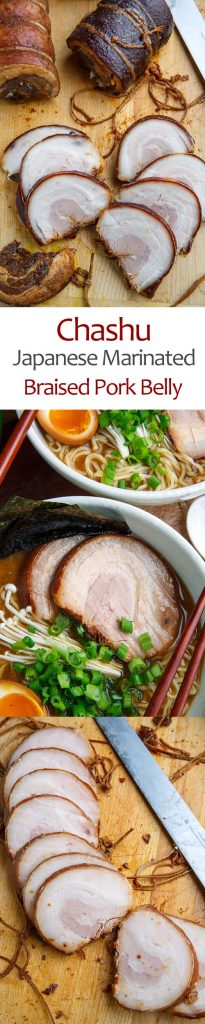 Chashu Pork (Marinated Braised Pork Belly)