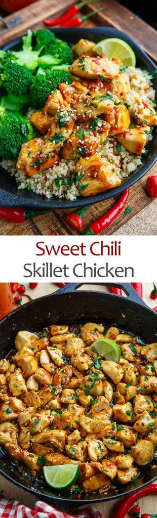 Skillet Sweet Chili Chicken