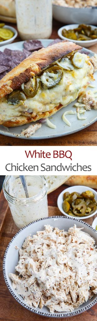 White BBQ Chicken Sandwich