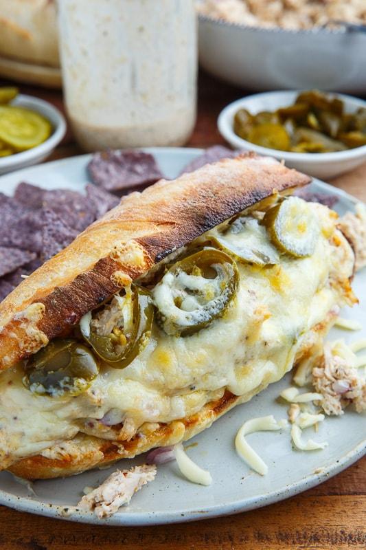 White BBQ Chicken Sandwich