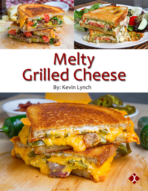 Melty Grilled Cheese eCookbook - Get your copy now!