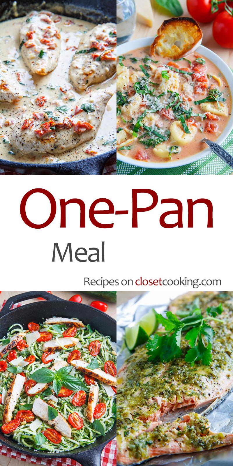 One Pan Meals Closet Cooking