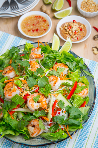 Vietnamese Summer Roll Salad