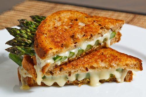 Asparagus Grilled Cheese Sandwich Recipe