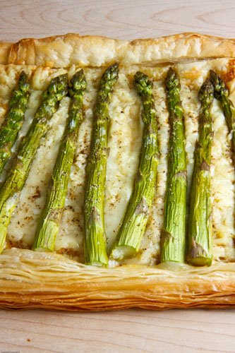 Asparagus and Gruyere Tart Recipe