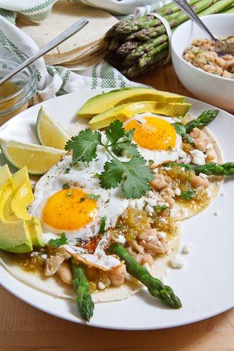 Asparagus Huevos Rancheros Recipe