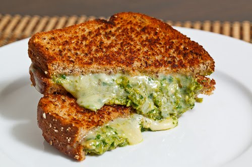 Asparagus Pesto Grilled Cheese Sandwich Recipe