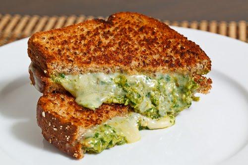 Asparagus Pesto Grilled Cheese Sandwich Recipe