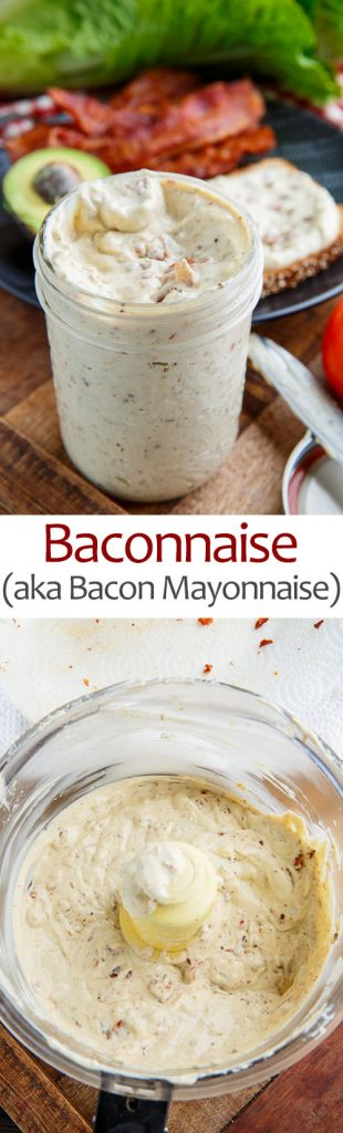 Baconnaise (aka Bacon Mayonnaise)