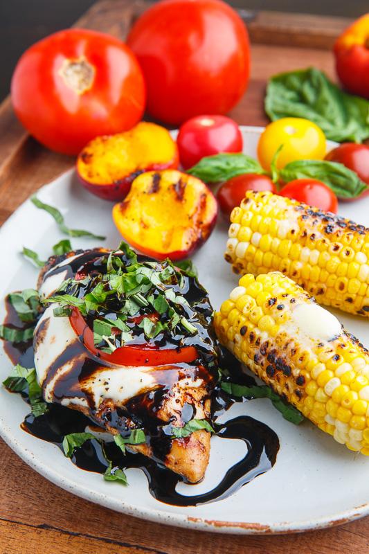 Caprese Balsamic Grilled Chicken Recipe