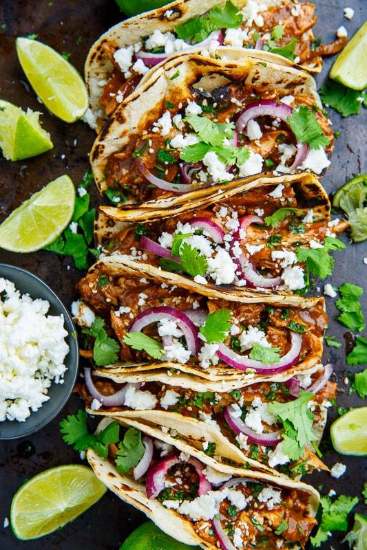 Chicken Mole Tacos Closet Cooking