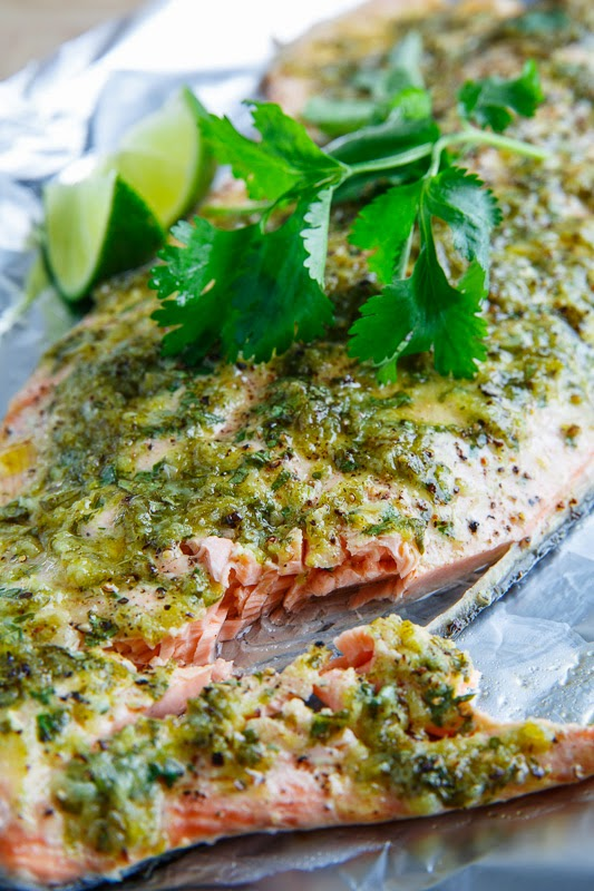 Cilantro and Lime Salmon Recipe