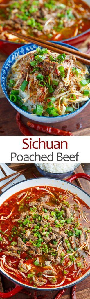 Sichuan Poached Beef (Shuizhu)
