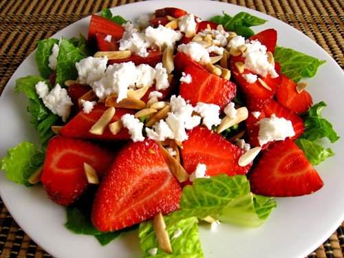 Strawberry and Feta Salad Recipe