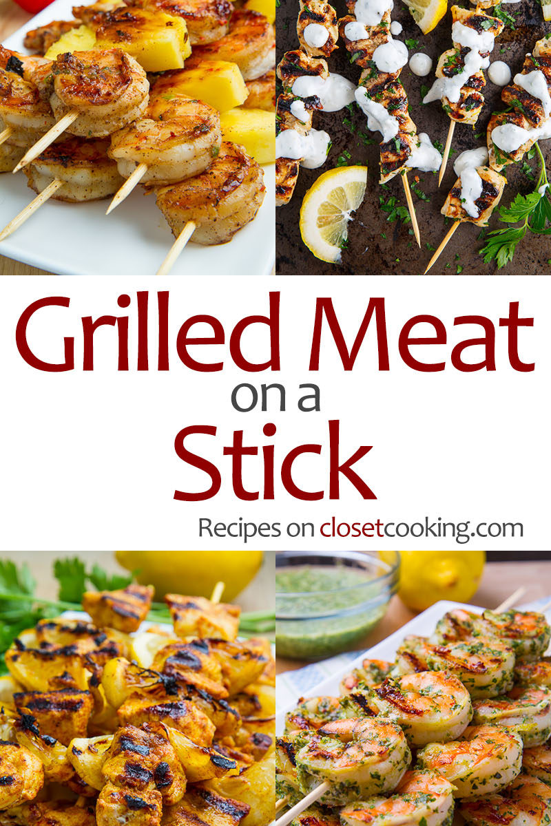 Grilled Meat on a Stick Recipes