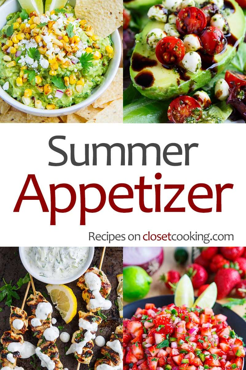 Summer Appetizer Recipes