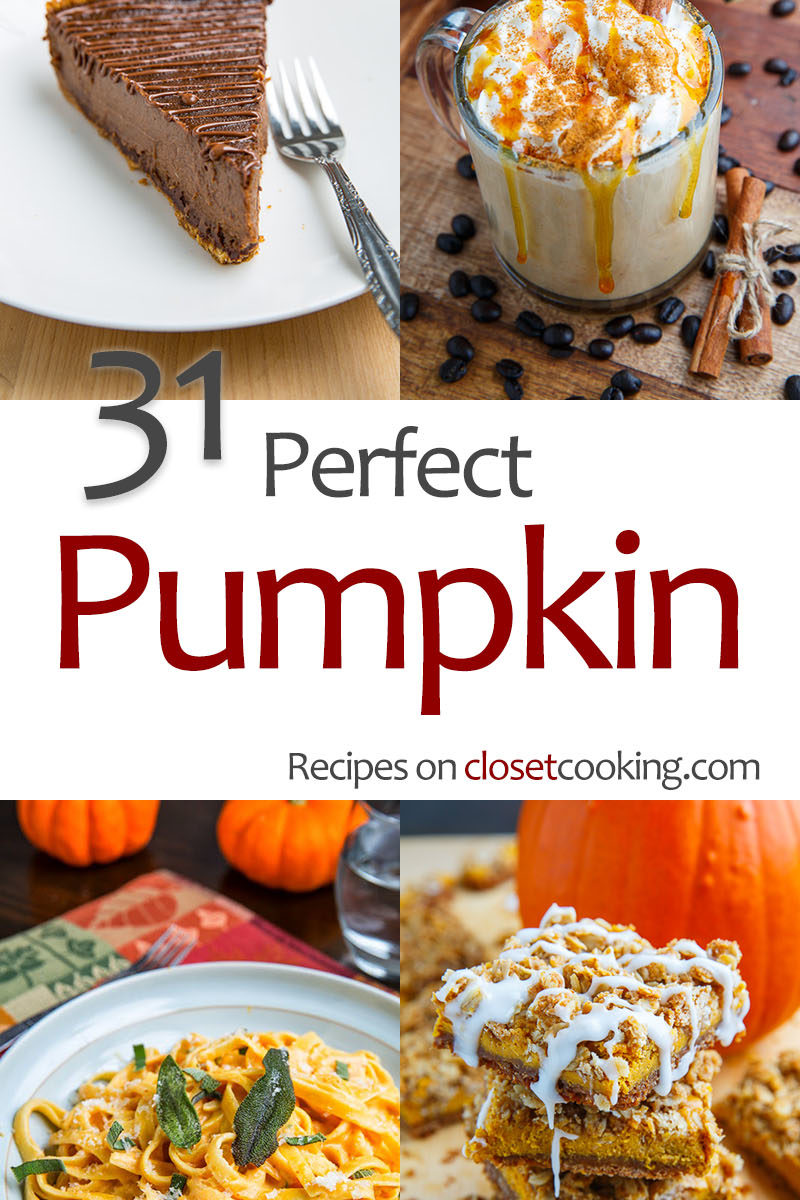 31 Perfect Pumpkin Recipes